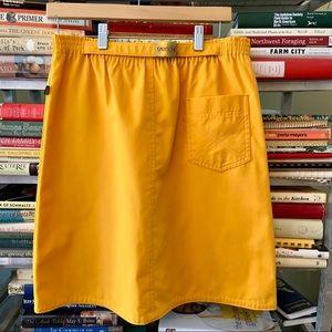 Sasson Vintage 1980s A-line Elastic Belt Skirt